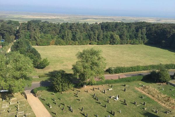 Blakeney Church Tower View