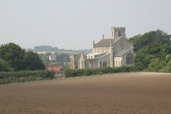 Cley-church